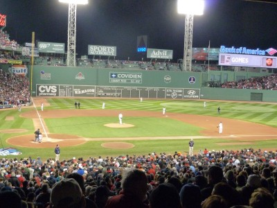 Beautiful Fenway Park- no better place to watch a ballgame!