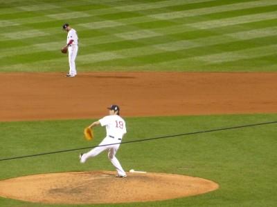 Koji Uehara- so great to see him pitch!