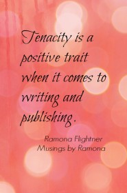 PicMonkey salmon- tenacity quote