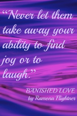 Banished Love- Joy Quote