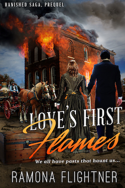 Love's First Flames by Ramona Flightner